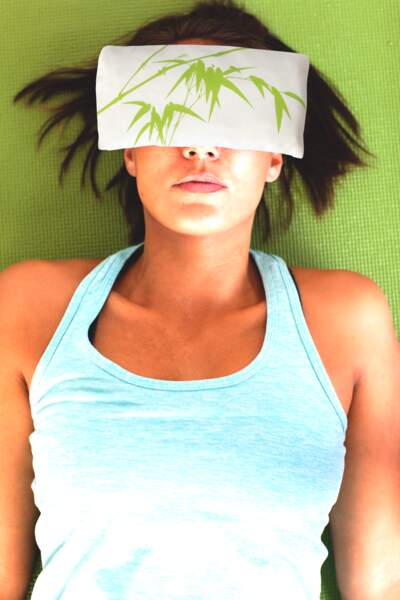 Alix a testé le coussin relaxant pour les yeux