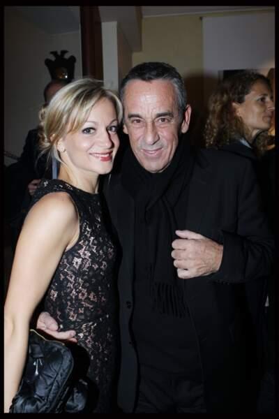 Thierry Ardisson et Audrey Crespo-Mara à Paris (2011)