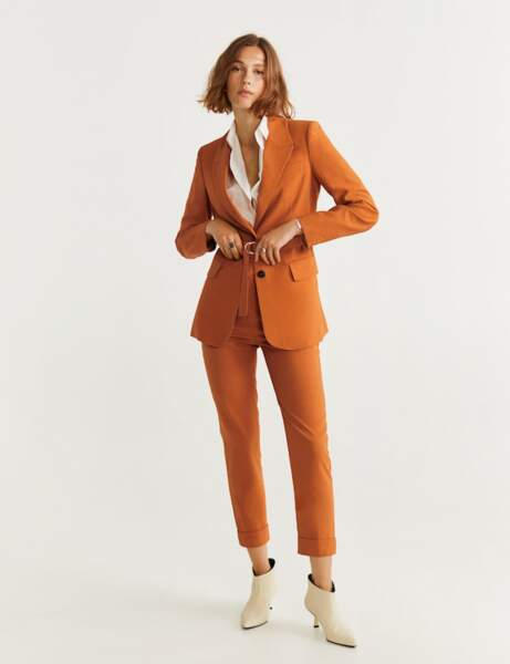 Tailleur pantalon : automnal