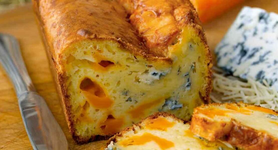Cake de Sophie Dudemaine aux trois fromages