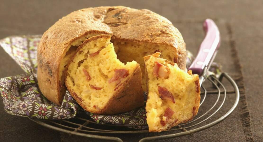 Cake au chorizo