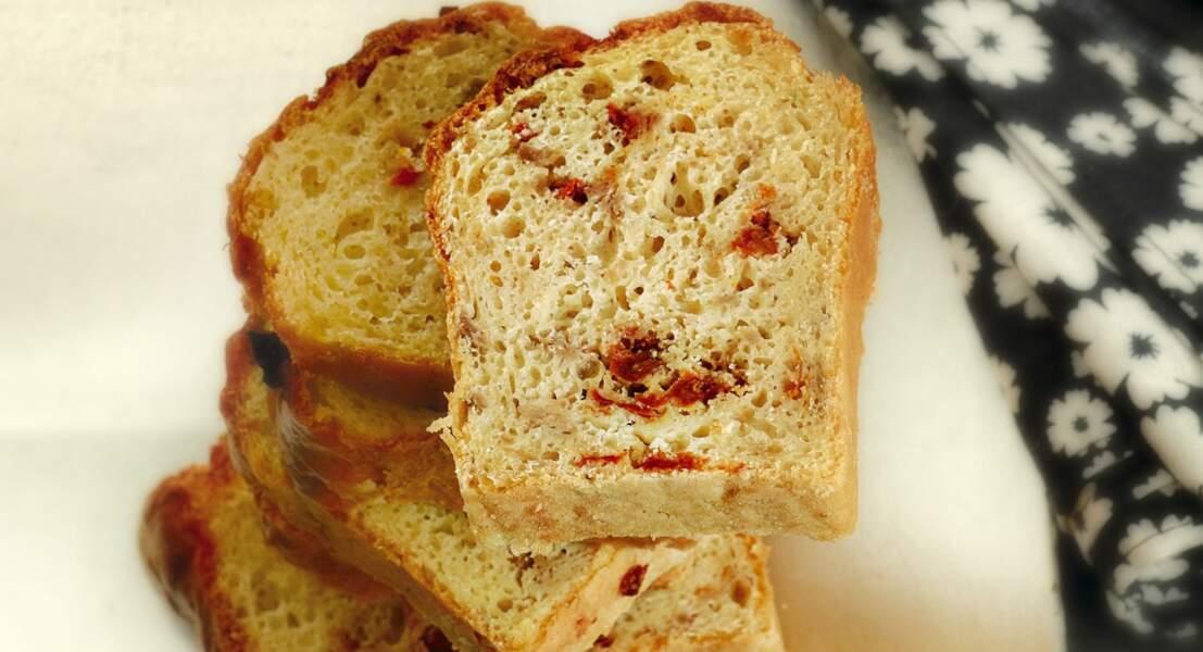 Cake tomates séchées