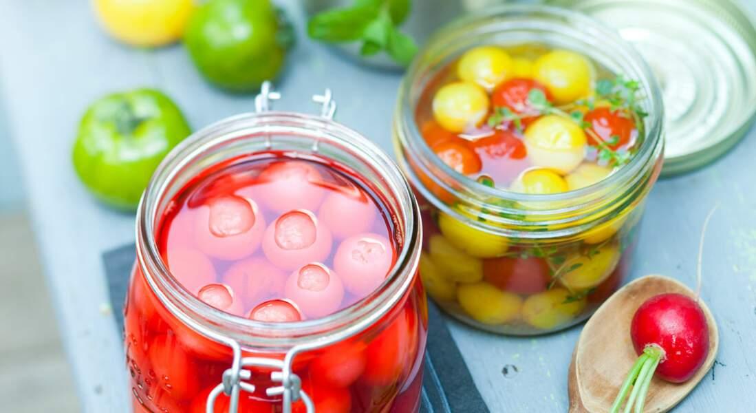 Bocaux et confitures : les légumes