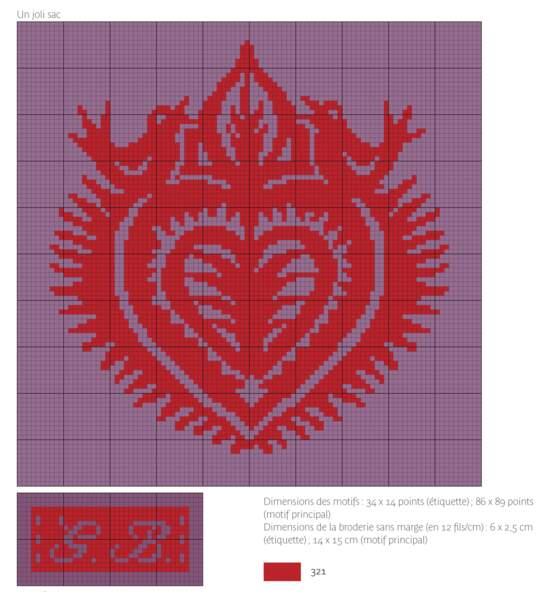 Un médaillon en forme de coeur