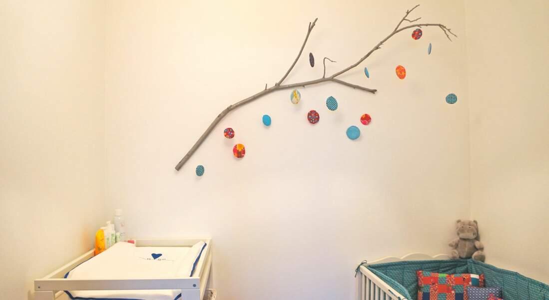 DIY : un mobile nature pour la chambre de bébé