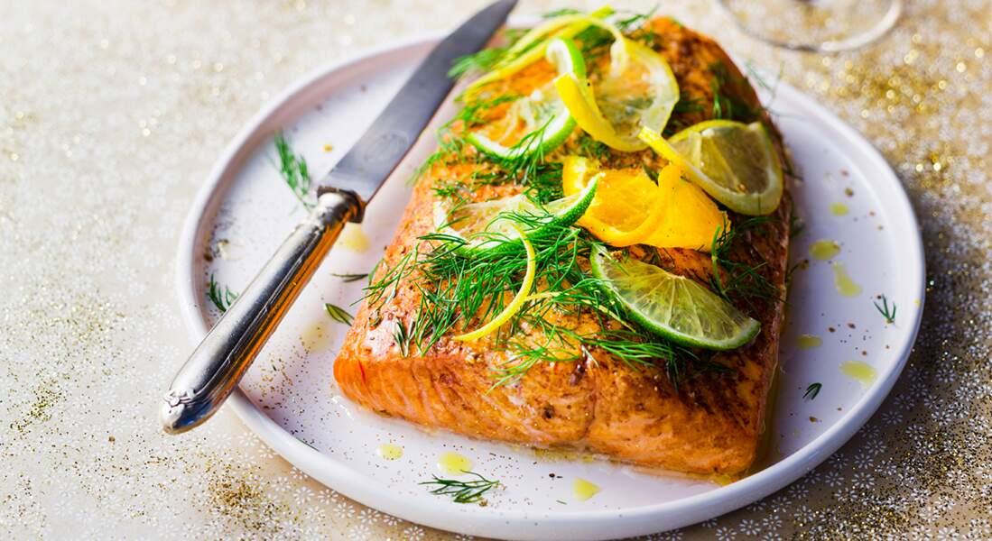 Le saumon fumé maison, c'est trop bon !