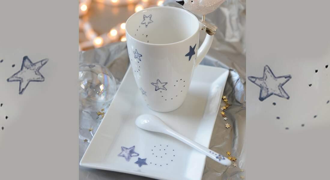 Un service à thé étoilé