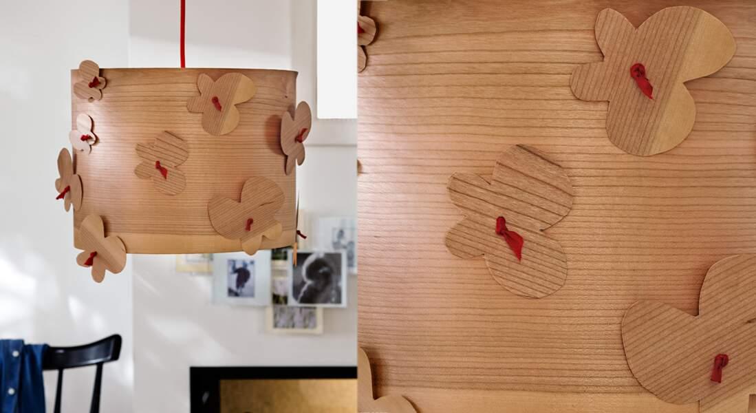 Une suspension en bois