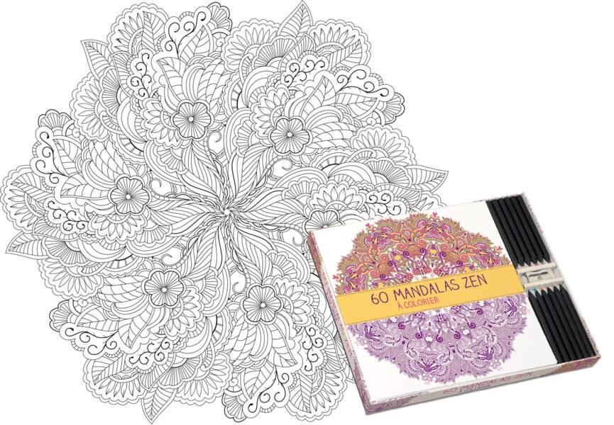 Coloriage Mandalas Zen