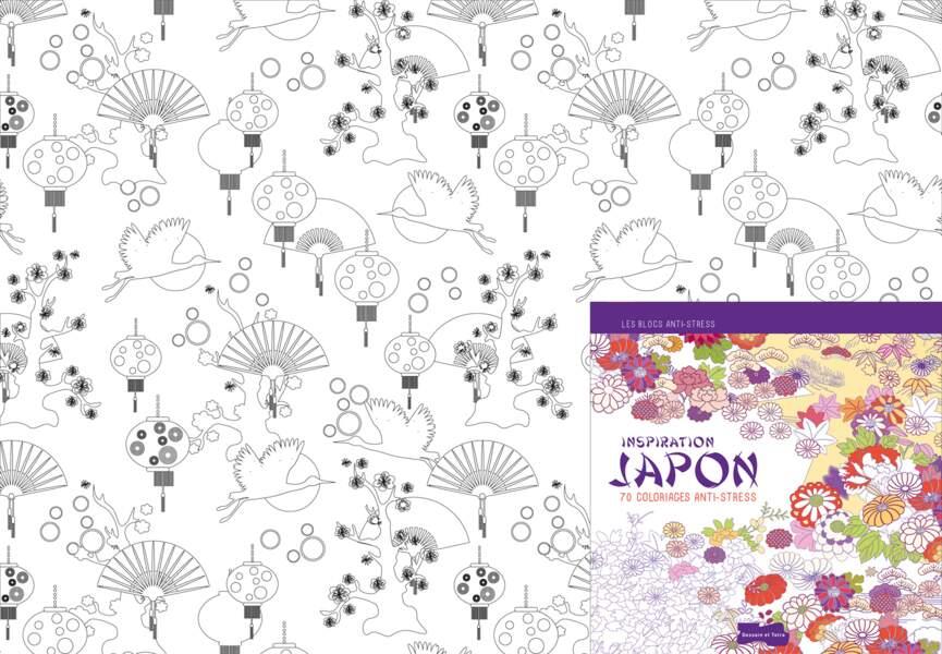 """Coloriage """"Inspiration Japon"""""""