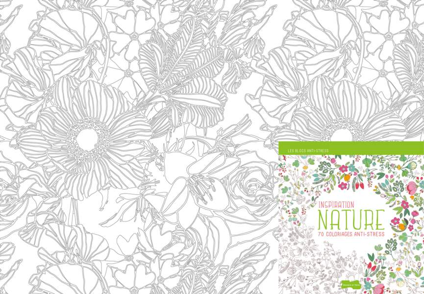 "Coloriage ""Inspiration Nature"""