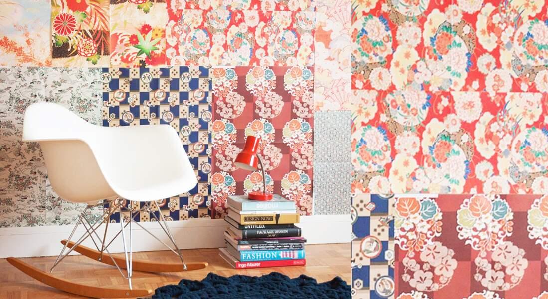 Un patchwork géant sur mon mur