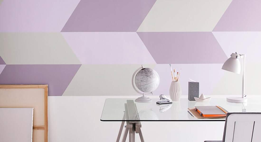 Idée peinture : un mur graphique