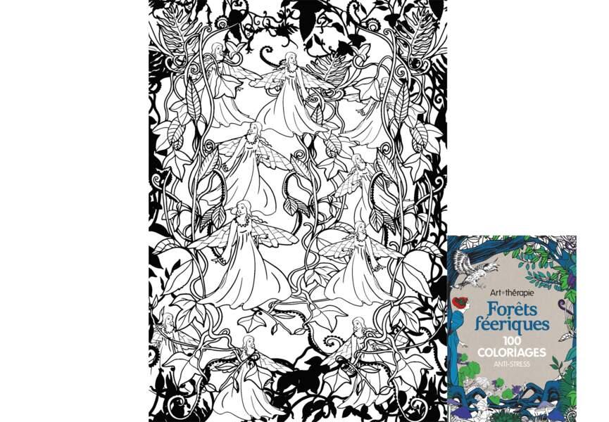100 coloriages Forêts féeriques