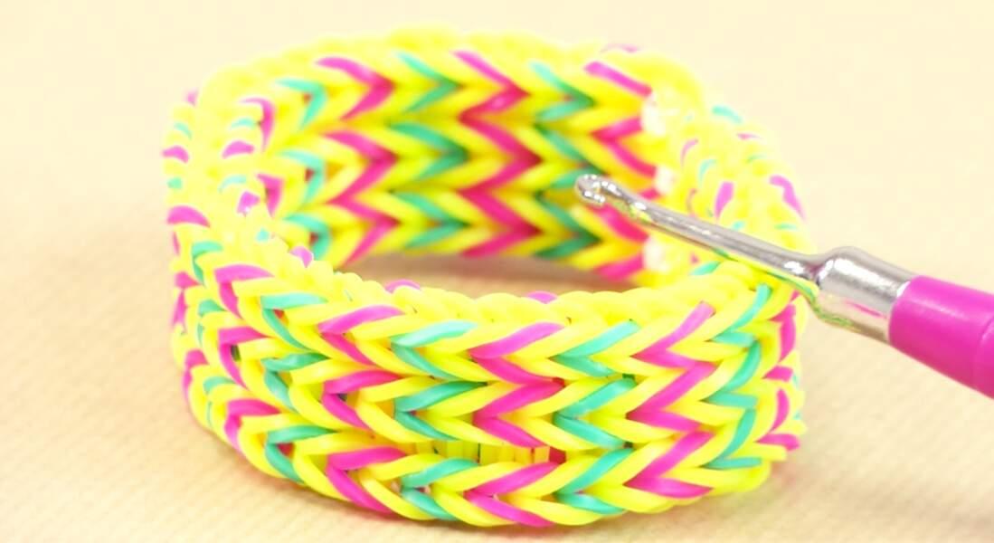 Le bracelet élastique Triple Fish Tail, dit Bracelet de Lou