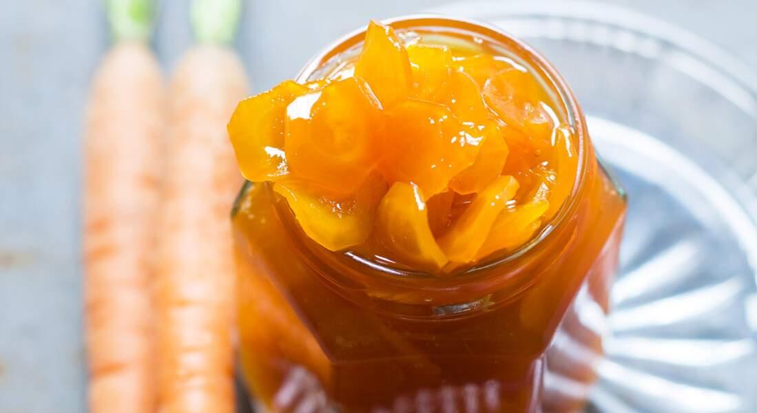 Confiture douce de carottes