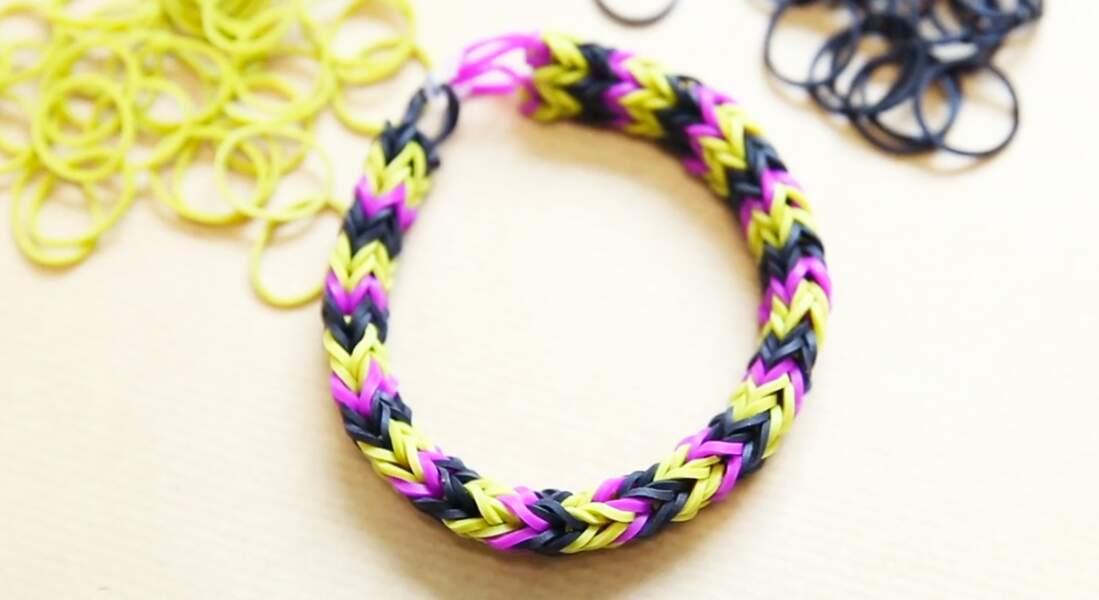 Un bracelet élastique double avec le Monster Tail
