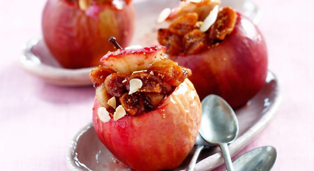 Pommes fondantes aux figues