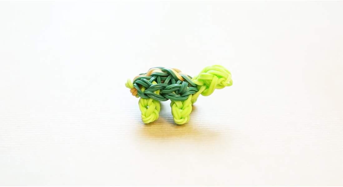 Rainbow Loom : la tortue