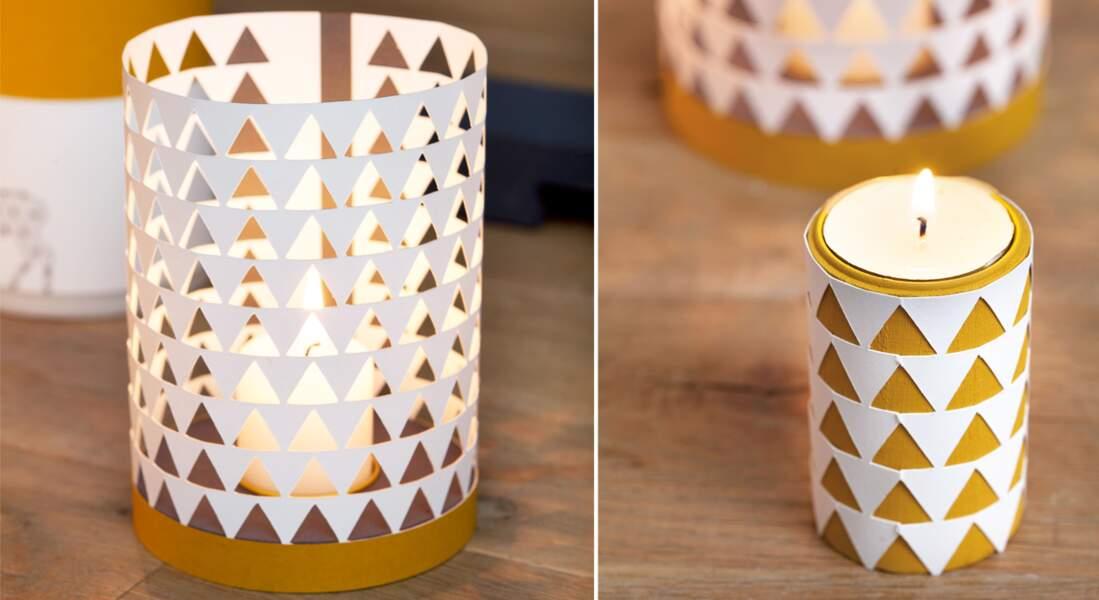 Des bougies graphiques