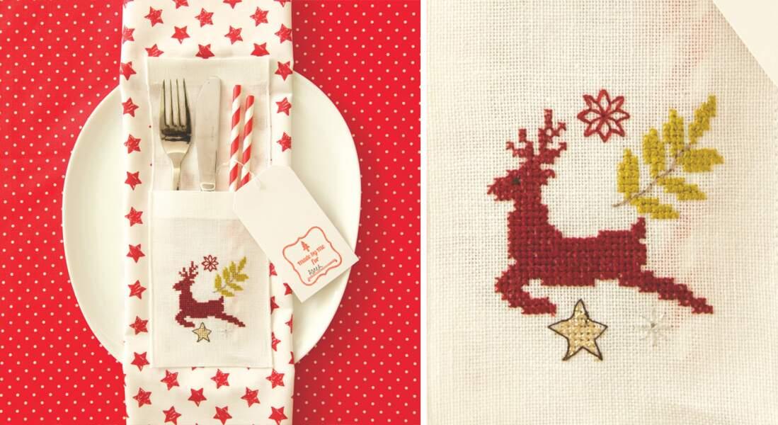 La grille de Noël renne