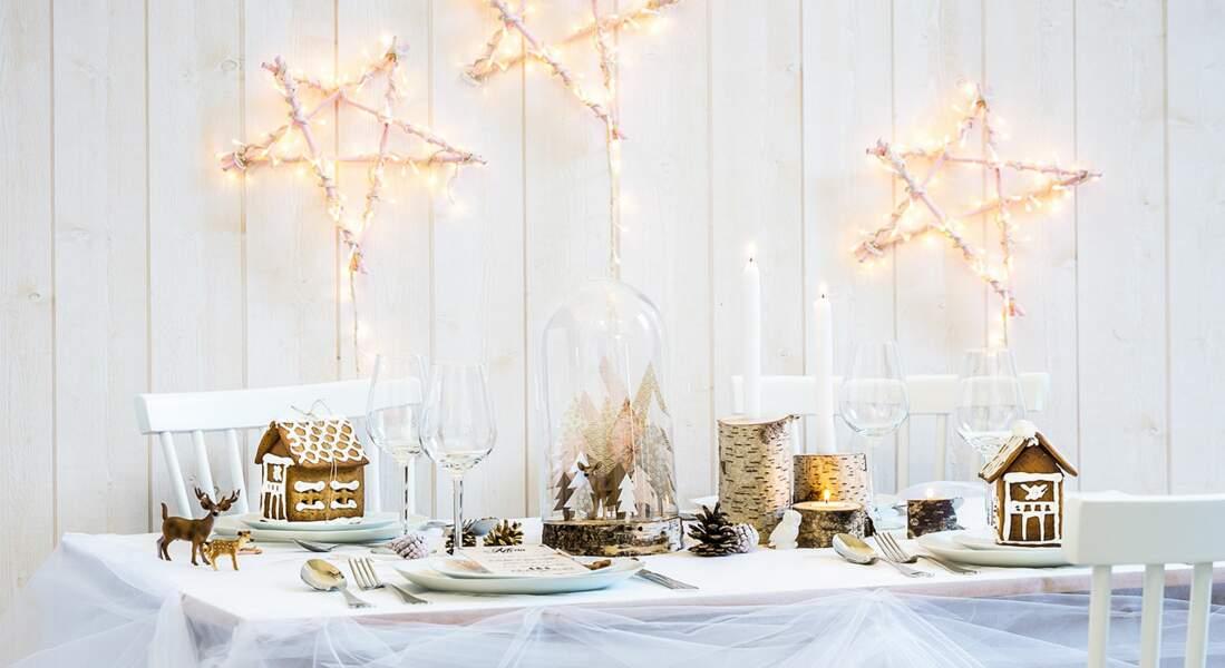 Une décoration de table enchantée