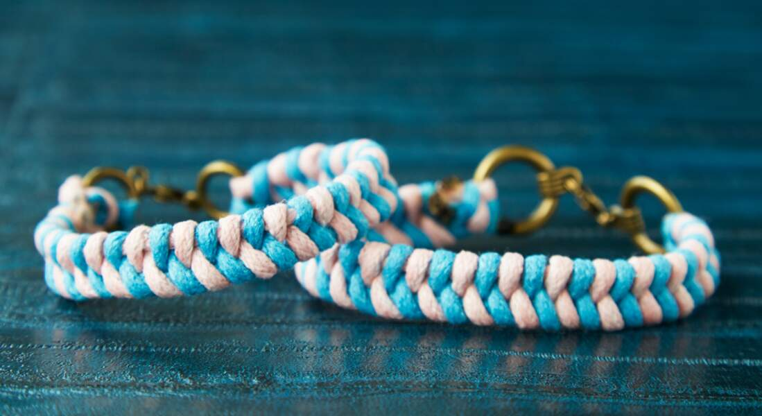 Les bracelets tressés
