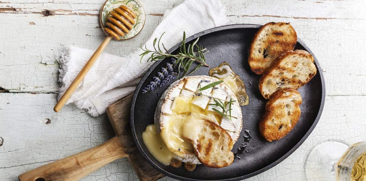 Basse Normandie : le camembert rôti