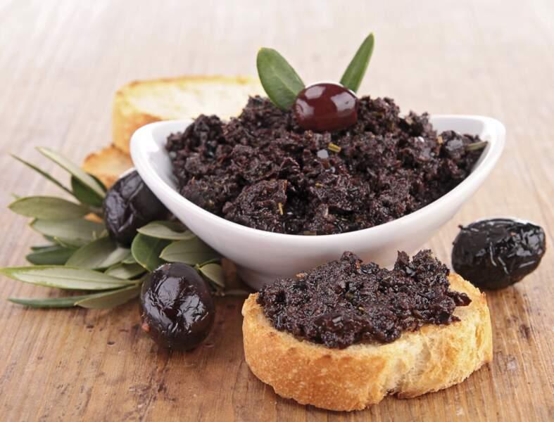 Tapenade olive et tomate séchée prêt en 5 minutes (vidéo)