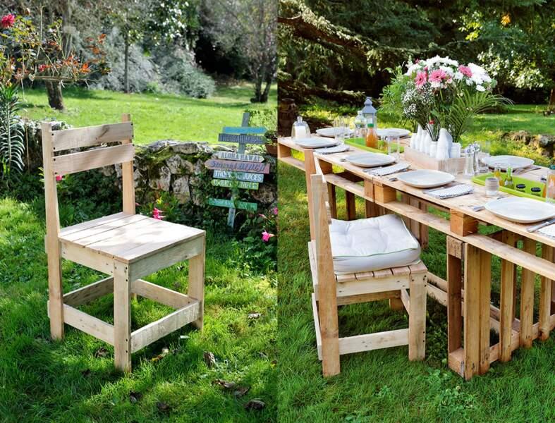 DIY : comment fabriquer une chaise de jardin en palettes ?