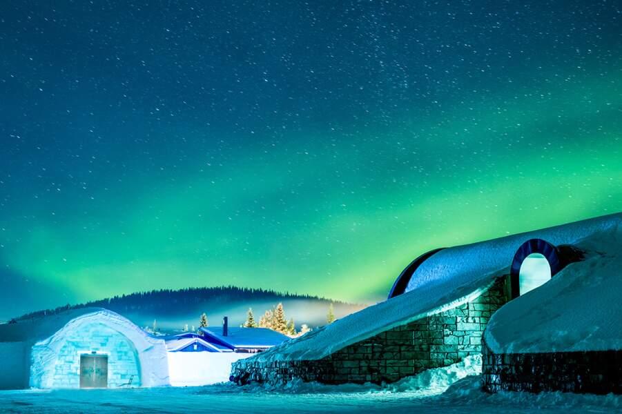Profiter des aurores boréales en Suède