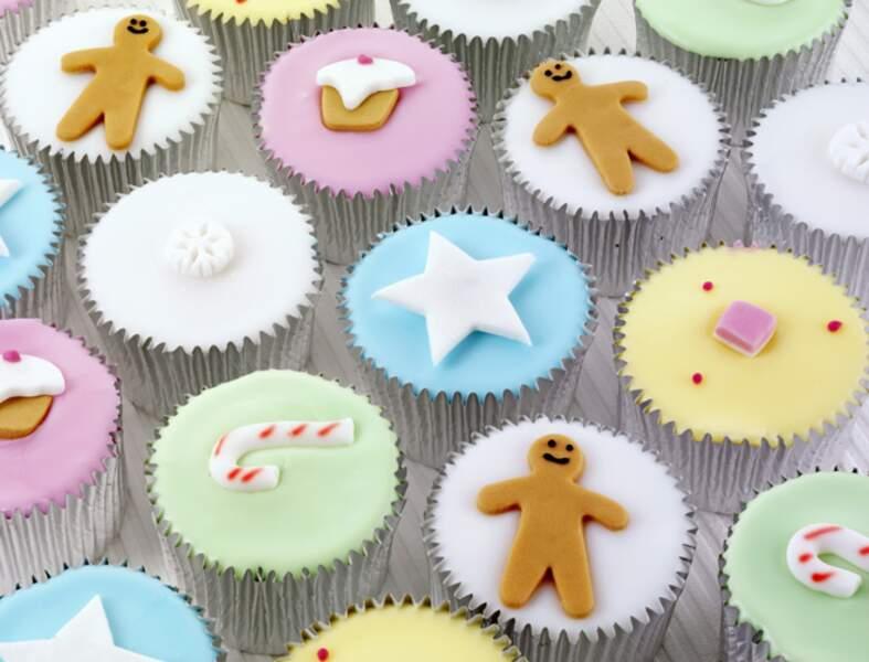 La recette des cupcakes de Noël sans sucre (vidéo)