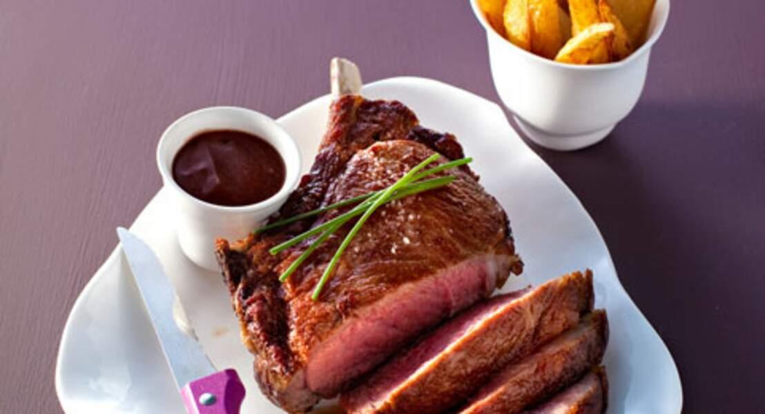 Côte de bœuf, sauce bordelaise