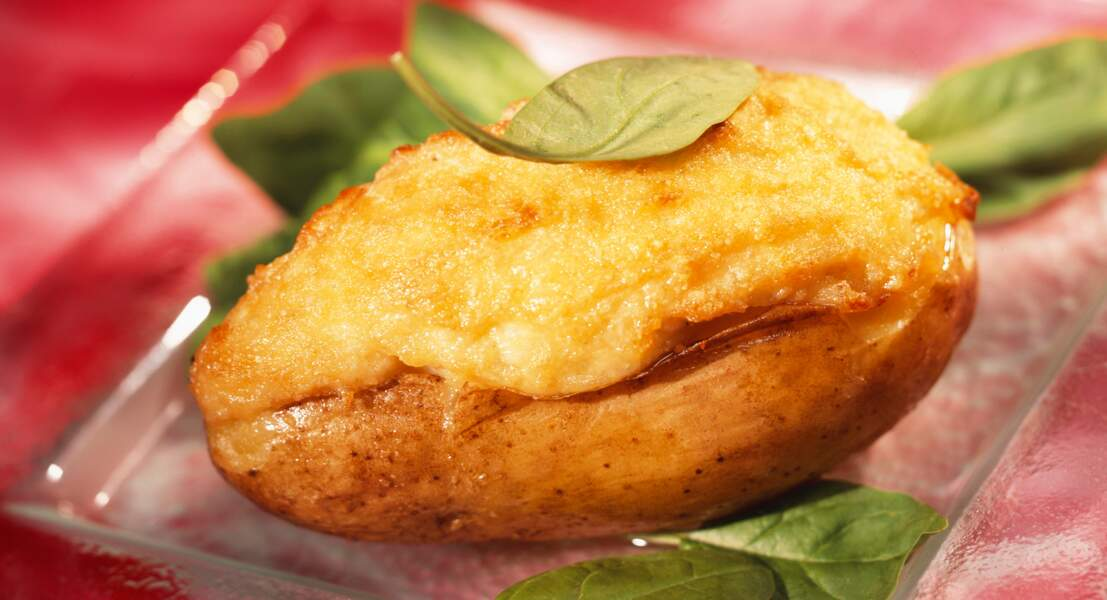 Pommes de terre farcies à la brandade de morue