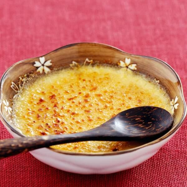 Crème brûlée aux endives et parmesan