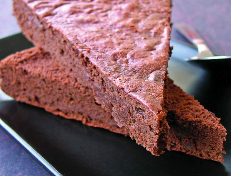 Fondant choco-noisette sans beurre ni sucre ni gluten