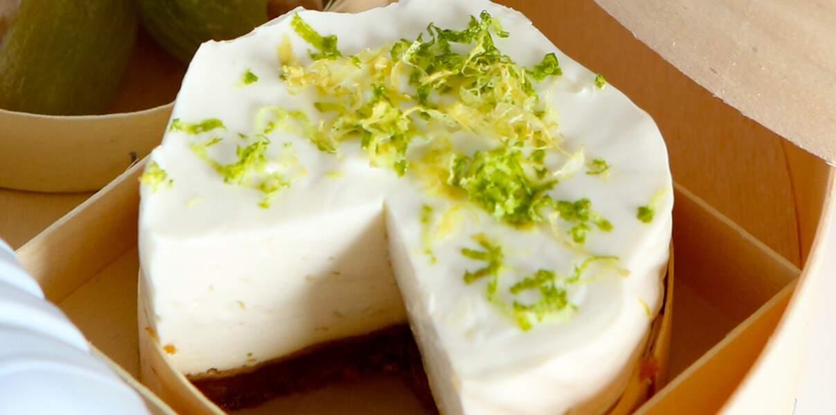 Cheesecake citron aux restes de biscuits