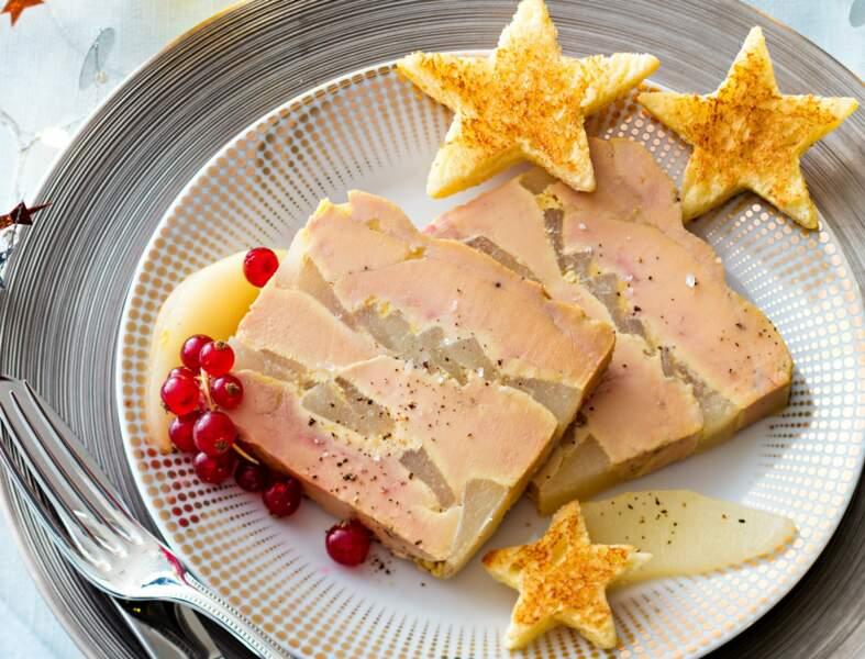 Menu facile - Foie gras aux fines poires, au micro-ondes