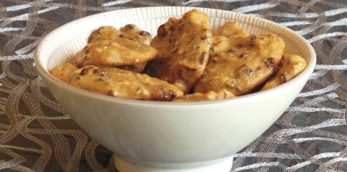Cookies tendres au quinoa