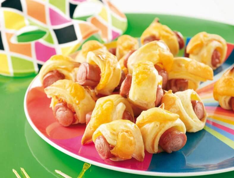 Mini-hot-dogs