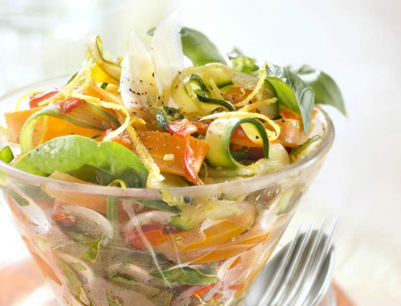 Méli-mélo de courgettes - carottes