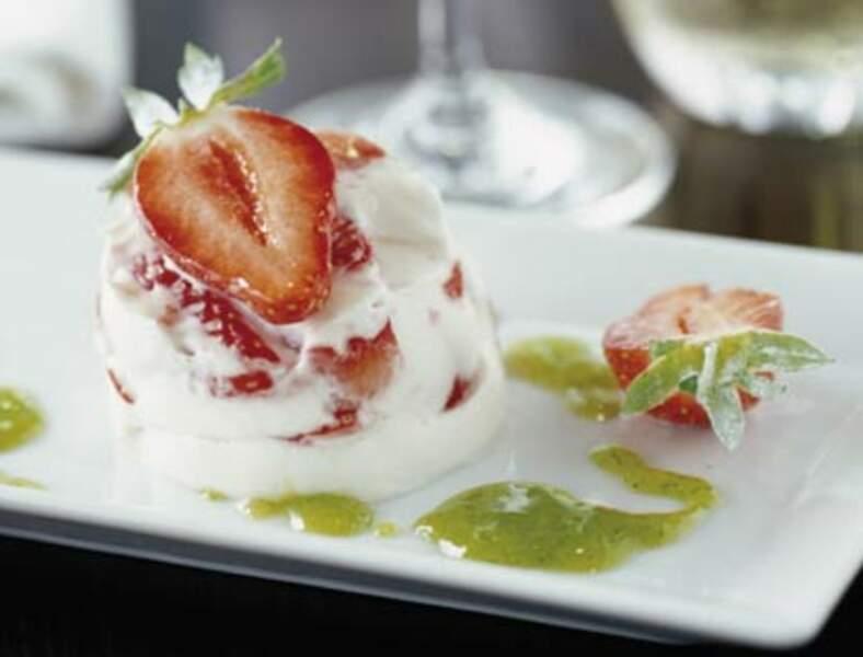 Crémets nantais aux fraises