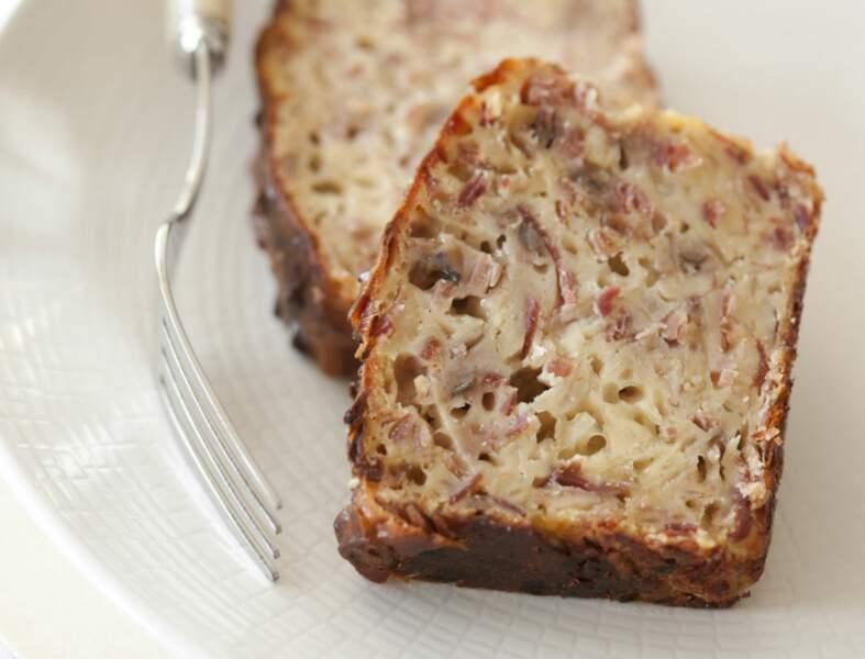Cake andouille camembert
