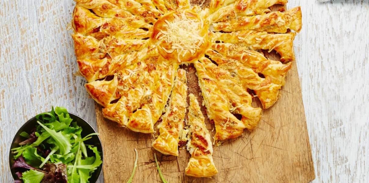 Tarte soleil aux 4 fromages