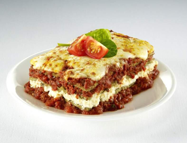 Lasagnes végétariennes sans béchamel