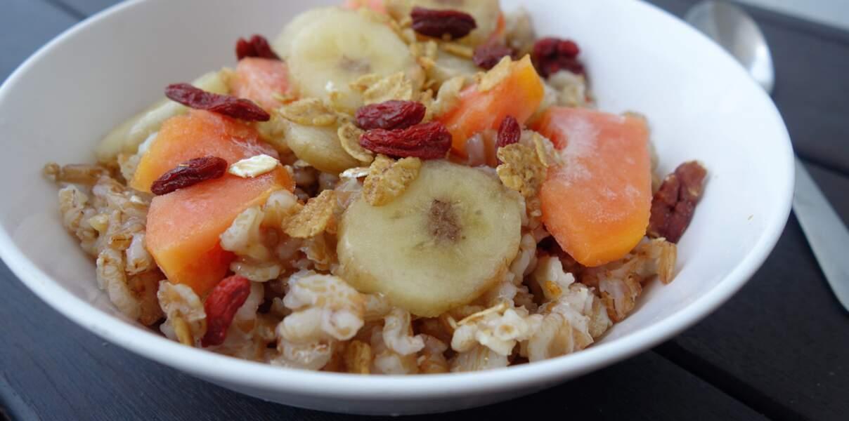 Porridge de seigle tropical