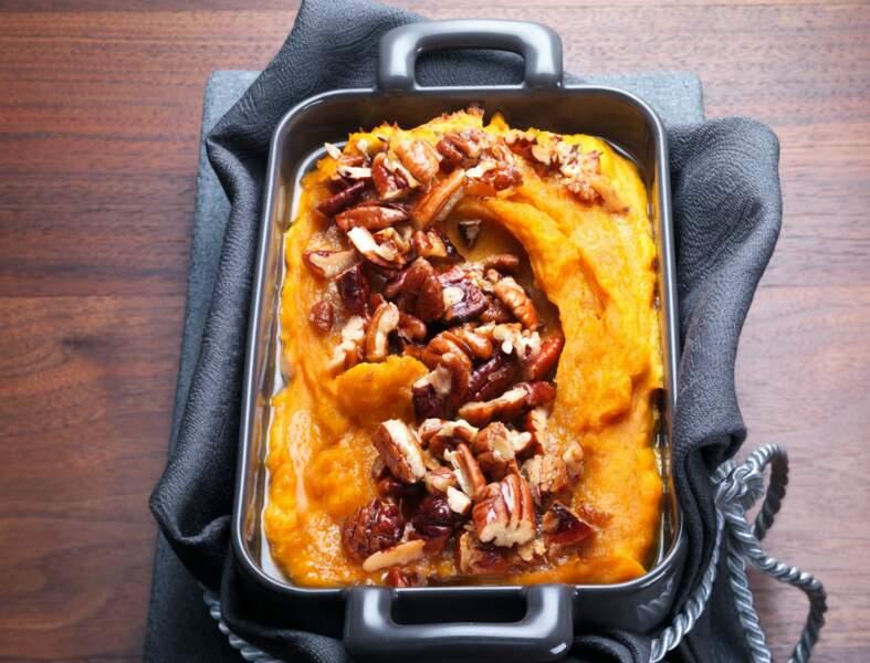 Menu prêt d'avance - Gratin de patates douces