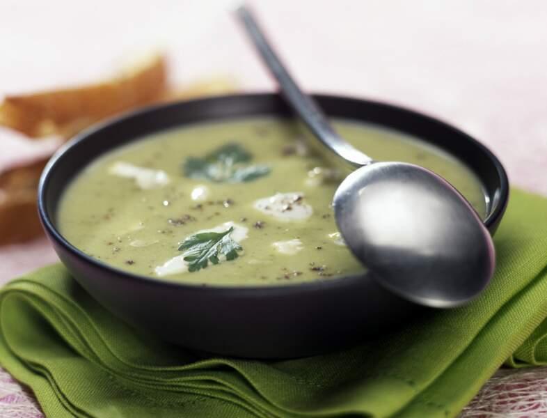 Soupe de courgettes au Thermomix