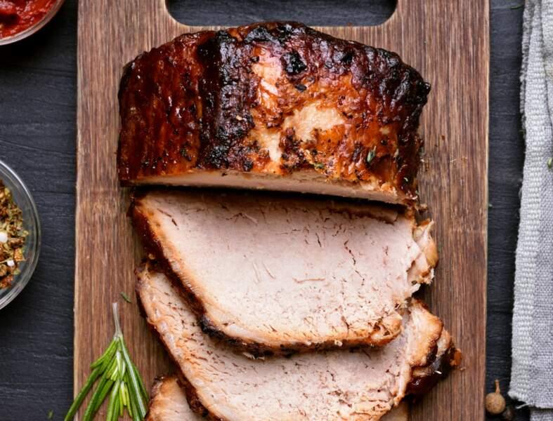 Filet mignon de porc au gingembre