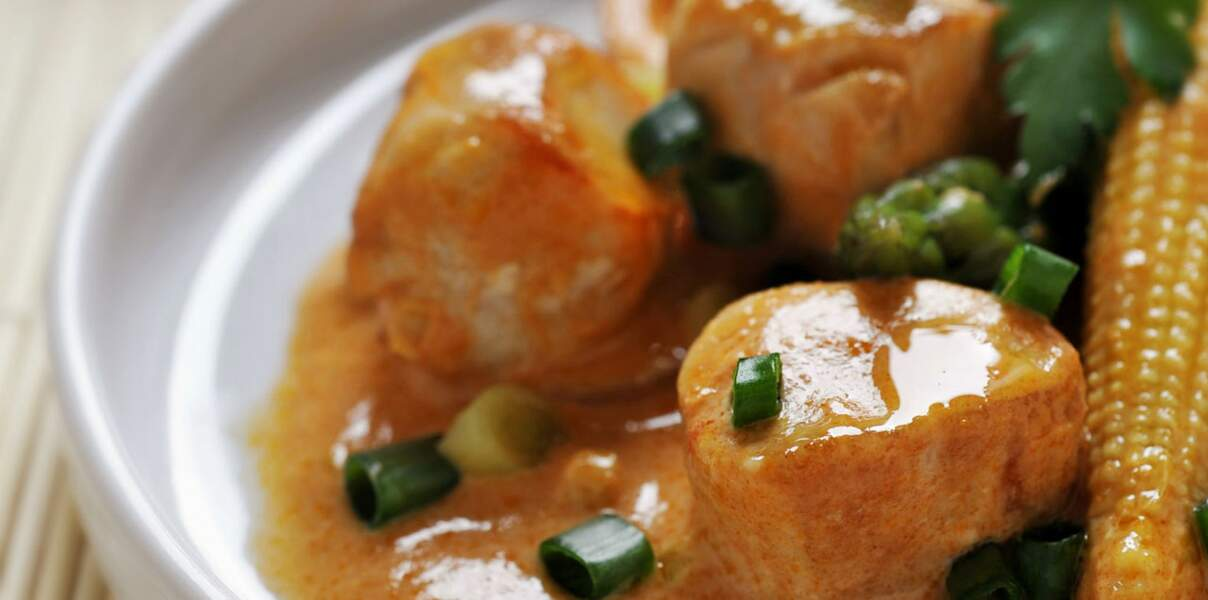 Curry rouge de lapin